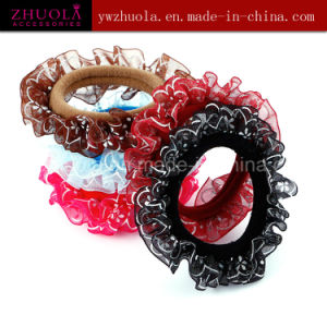Elastic Hair Bands with Lace for Women pictures & photos
