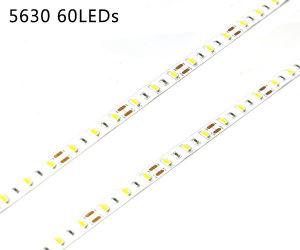 Shenzhen Supplier DC12V 60LEDs/M SMD 5630 LED Strip Lighting pictures & photos