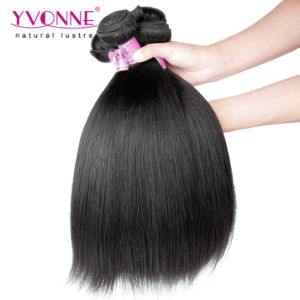 Wholesale Human Hair Extension Yaki Straight Brazilian Remy Human Hair pictures & photos
