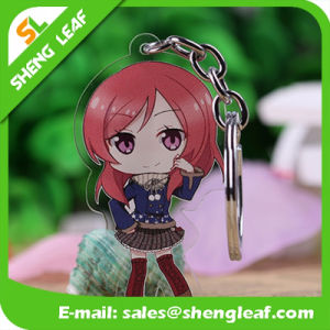 Cartoon Fashion OEM Design Acrylic Keychain (SLF-AK004) pictures & photos