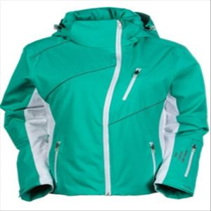 2015 Ladies Cheap Simple Design Waterproof Winter Ski Jacket pictures & photos
