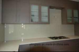 Color Coated Tempered Splashback Glass pictures & photos