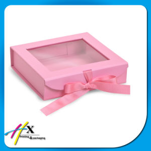 Rigid Paper Gift Box with Large Window pictures & photos