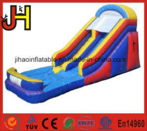 Hot Sale Inflatable Orange&Blue Water Slide for Water Games pictures & photos