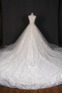 Newest Customize Beading Bridal Gown Prom Wedding Dress pictures & photos