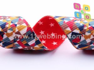 Silk-Screen/Heat Transfer Printing on Webbing Customized Polyester Material pictures & photos