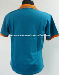 Custom Embroidery Logo 100% Combed Cotton Polo T-Shirt pictures & photos