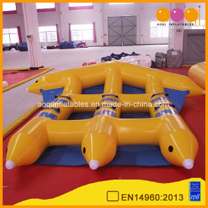 Arrow Banana Boat PVC Tarpaulin Inflatable Flying Fish Boat (AQ3510) pictures & photos