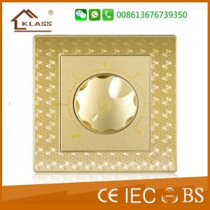 2 Gang 1way Switch Pressure Wall Switch Lighting Switch pictures & photos