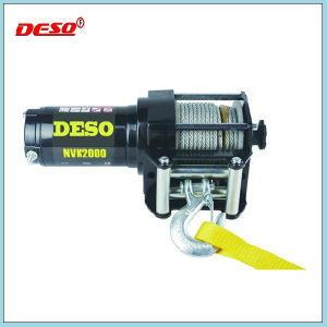 ATV Fast Speed Cable Electric Winch pictures & photos