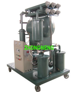 Single Stage Vacuum Aged Transformer Oil Purifier Zy with ISO9001 and Ce pictures & photos