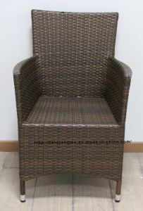 Metal Rattan Outdoor Leisure Restaurant Dining Garden Living Room Chair pictures & photos