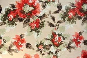 2015 Tricot Velvet Follower Pattern Print Fabric for Sofa pictures & photos