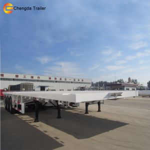 Made in China 3 Axles 50ton High Bed Semi Trailer with Low Price pictures & photos