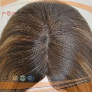 Virgin Human Hair Silk Top Lace Front Wig (PPG-l-01787) pictures & photos