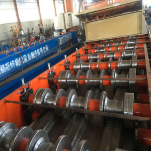 Galvanized Hot Selling Deck Sheet Floor Panel Roll Forming Machine in China pictures & photos