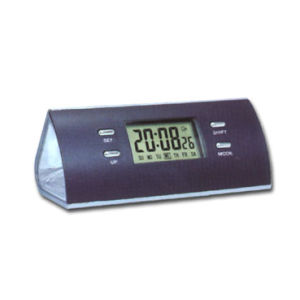 LCD Alarm Clock W/ Torch Light (ELC-204A)