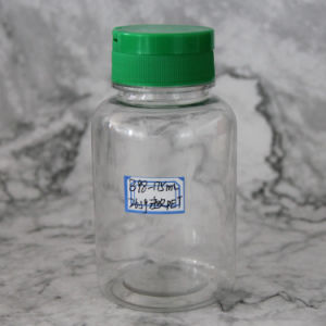 Hot Sale Flip-Top Cap Pet Bottle for Health Care Medicine Plastic Packaging pictures & photos
