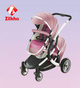 High Fashion Two-Seater Stroller pictures & photos