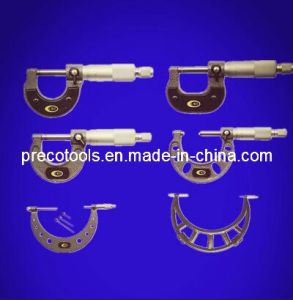 High Quality Ratchet Stop Outside Micrometers (Painted or Chromed Frame) pictures & photos