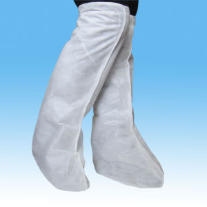 Disposable Waterproof Boot Cover with Elastic pictures & photos