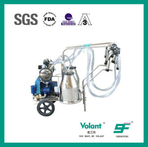 Sanitary Stainless Steel Milking Machine for Dairy Farm pictures & photos