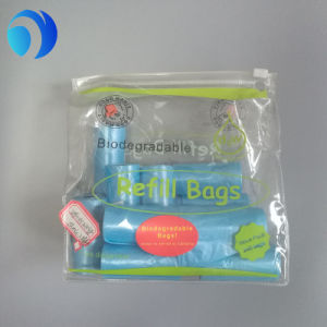 Factory Price Biodegradable T-Shirt Dog Poop Bags with Handle pictures & photos