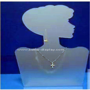 Acrylic Plastic Necklace Display Bust pictures & photos