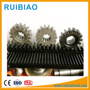 Worm Gear and Rack Hoist Pinion and Rack pictures & photos