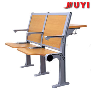 Jy-U201 Modern Classroom Study Matel Lecture Chair with Metal Armrest pictures & photos