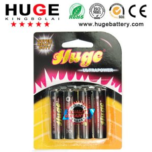 1.5V power AA size Carbon Zinc dry cell Battery R6 Um-3 pictures & photos