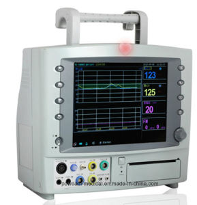 FM-10A Fetal Ctg Maternal Fetal Monitor with Twins pictures & photos