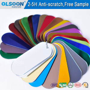 Olsoon Customized Color/Thickness PMMA Mirror Acrylic Mirror Two Way pictures & photos