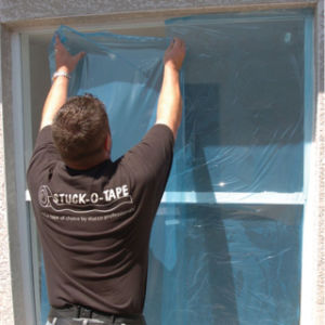 PE Protection Film for Window Glass Surface pictures & photos