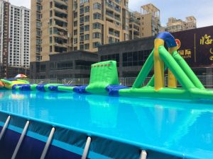 Above Ground Durable PVC Metal Bracket Swimming Pool pictures & photos