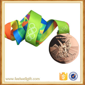 Souvenir Items Customized Metal Sports Medallions with Ribbon pictures & photos