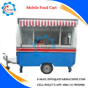 Qiaoxing High Quality Hamburger Snack Food Trailer pictures & photos