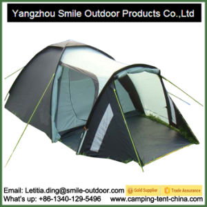 3-4 Person Outdoor Two Story Picnic Living Camping Tent pictures & photos