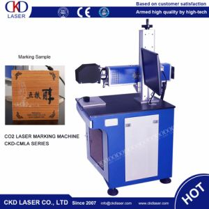 60 Watt CO2 Laser Marking Engraving Machine for Wood Cloth pictures & photos