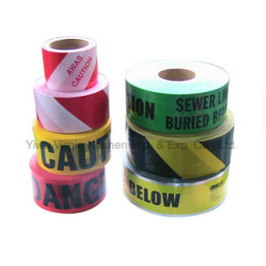 Top Quality Printed Warning Tape Barrier Tape Caution Tape pictures & photos