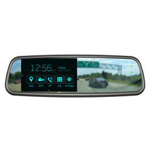 5 Inch GPS/DVR/Avin/Bluetooth Multifunction Electronic Rearview Mirror pictures & photos