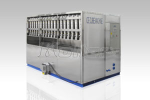 5 Ton Most Popular China Factory Big Capacity Industrial Ice Cube Machine (5000kgs/24hours) pictures & photos