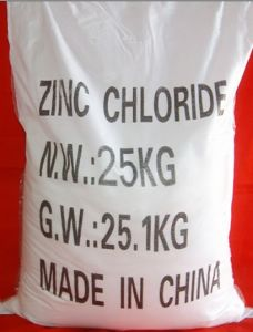 Woven Bag or Iron Drum Packied 95% Zinc Chloride pictures & photos