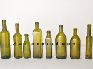 Olive Oil Bottles with Green Color pictures & photos