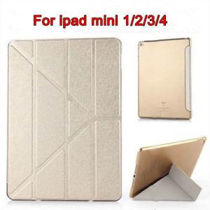 Smart Silk Texture Flip Stand PU Cover Case for iPad Mini 1/2/3/4 Case