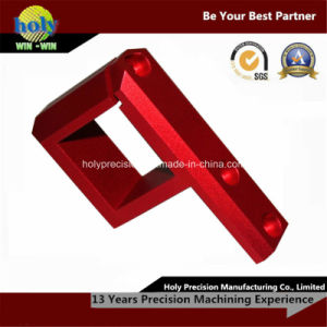 High Competitive Price CNC Precision Machined Parts with Red Anodized pictures & photos