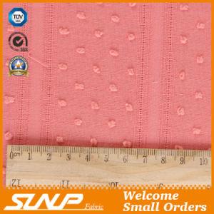 High Quality Jacquard Cotton Fabric for Dress