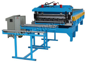 Aluminum Tile Roll Forming Machine pictures & photos