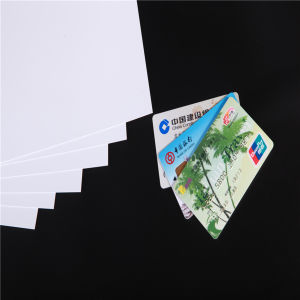 PVC White Card Making for Magstripe Card pictures & photos