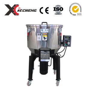 CE Stainless Steel Vertical Rotating Drum Plastic Mixer for PVC Particle pictures & photos